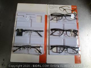 DesignOptics Foster Grant Reading Glasses +1.25