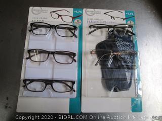DesignOptics Foster Grant Reading Glasses +1.75