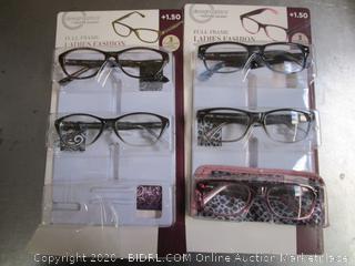 DesignOptics Foster Grant Reading Glasses +1.50