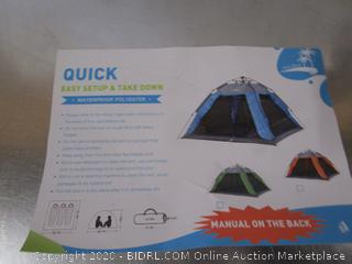 Quick Travel Tent