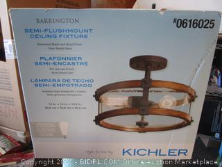 Kichler Semi Flushmount Light