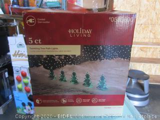 Holiday Living Twinkling Tree Path Lights