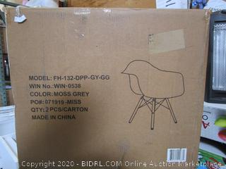 Moss Gray Chair Item