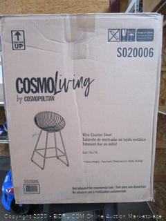 CosmoLiving Wide Counter Stool