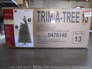Holiday Living Pre-Lit Robinson Fir Tree