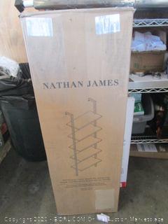 Nathan James Minimalist Bookcase