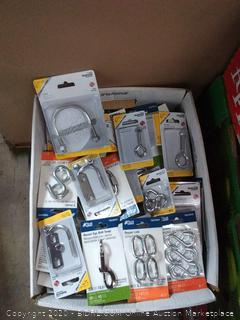 Bankers Box - Variety of Hardware Misc Items (Flea Market, Garage Sale, Contractors ... )