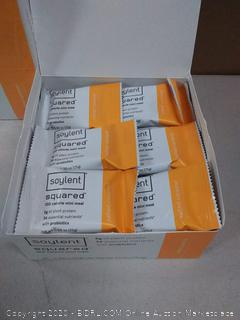 2 x Pack Soylent Squared 100-Calorie Protein Bar Salted Caramel 30 ($25 per box - $50 value)