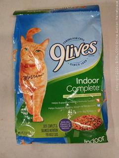 9Lives Indoor Complete Cat Food 12.00 lb