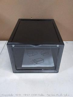 New In Box: Storage Box, All About Shoes Display & Storage Box