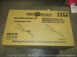 First Degree Fitness Rowing Ergometers box 1 of 2 only incomplete