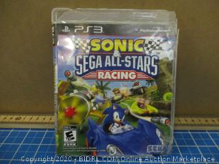 Ps3 Sonic Sega All Stars Racing