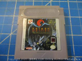 Nintendo Game Boy Batman