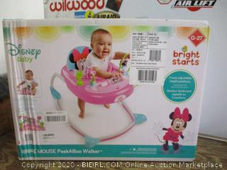 Bright Starts Minnie Mouse PeedABoo Walker