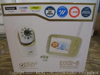 Infant Otics Wireless Digital Video Monitoring System