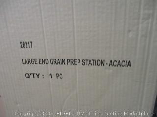 Large End Grain Prep Station