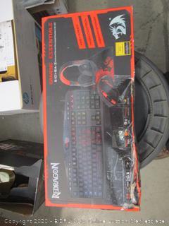 REDRAGON Gaming Keyboard/Mouse/ Mousepad/Headset