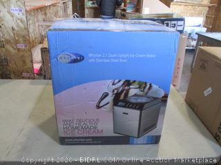 Upright Ice Cream Maker