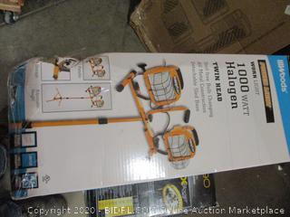Twin Head Work Light 1000W Halogen