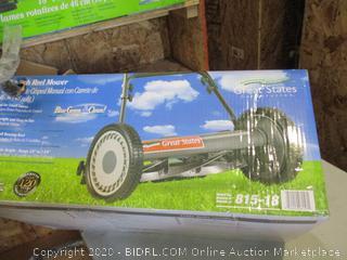Push Reel Mower (Box Damage)