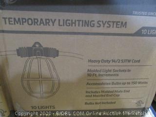 Temporary Lighting System