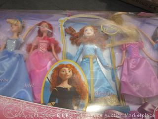Disney Princess Collection 7 Dolls