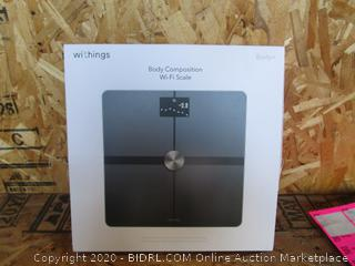 Body Composition Wi-Fi Scale (Please Preview)