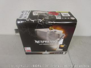 Nespresso Lattissima One (Box Damage)