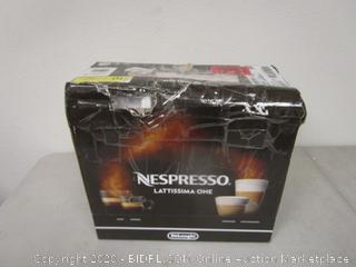 Nespresso Lattissima (Please Preview)