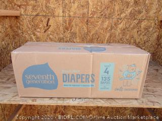 Seventh Generation Diapers Size 4