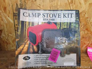 Camp Stove Kit (Please Preview)