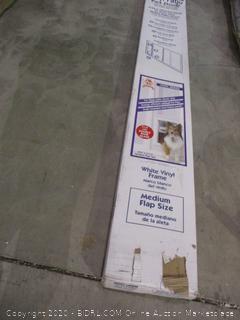 Vinyl Pet Patio Door