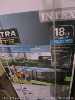 Intex 18ft rectangular