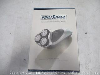 PhiliShave remarkable Revolutionary rotary New