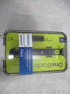 Philips Norelco One Blade face new