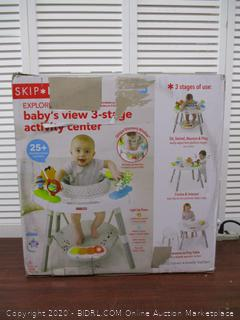 Skip Hop Baby's View 3-Stage Interactive Activity Center