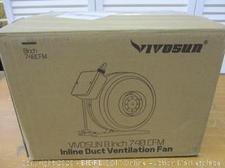 8 Inch Inline Duct Ventilation Fan