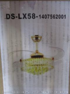 Luxury Fan Lamp