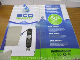 EcoSmart ECO 27 Electric Tankless Water Heater (Retail $500)