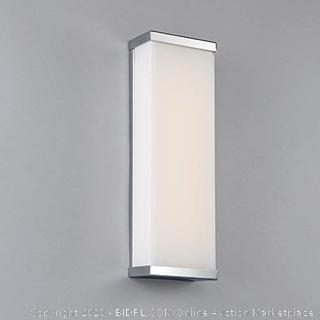 WAC Lighting WS-7318-CH 18in Chrome Float LED Wall Sconce