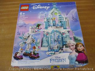 LEGO Disney Princess Elsa's Magical Ice Palace 43172 Toy Castle Building Kit