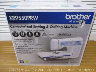 Brother Computerized Sewing Machine, XR9550PRW, Project Runway Limited Edition