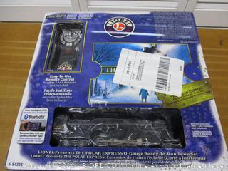 Lionel The Polar Express Electric O Gauge Model Train Set with Remote and Bluetooth Capability (Retail $350)