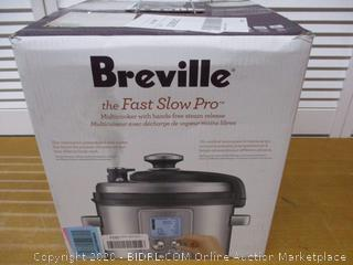 Breville BPR700BSS Fast Slow Pro Multi Function Cooker, Brushed Stainless Steel (Retail $250)