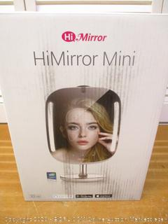 HiMirror Mini 32G:Beauty Mirror, Smart Beauty Mirror with Skin Analyzer, Makeup Mirror with LED Lights