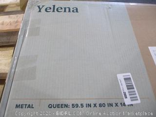 "Classic 14"" Platform Bed Frame Queen"