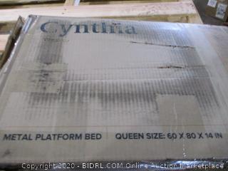 Smartbase  Metal Platform Bed Queen