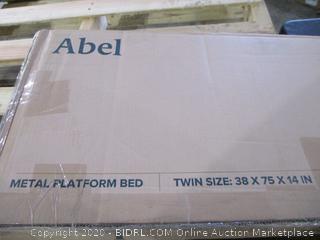"""Metal Platform Bed Quick Lock 14"""" Smart Platform Bed  Twin"""