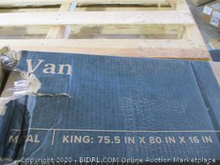 """16"""" Platform Bed Frame King"""