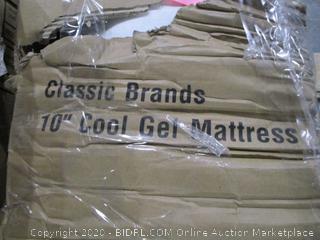 """Classic Brands 10"""" Cool Gel Mattress   King"""